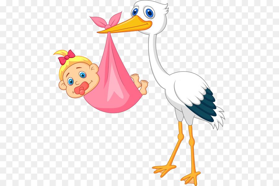 Аист и ребенок картинки
