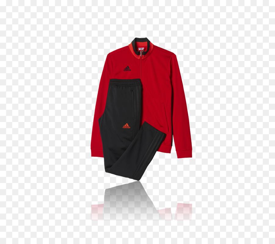 Trainingsanzug Adidas T shirt Jacke Rot Adidas png