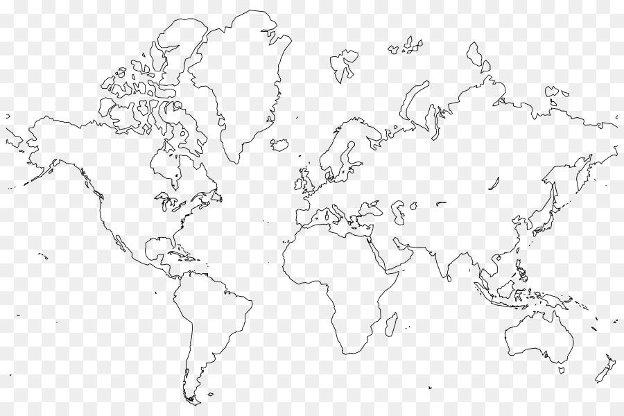Cartina Mondo Vuota.Mondo Mappa Del Mondo Mappa Vuota Globo Scaricare Png Disegno Png Trasparente Linea Arte Png Scaricare