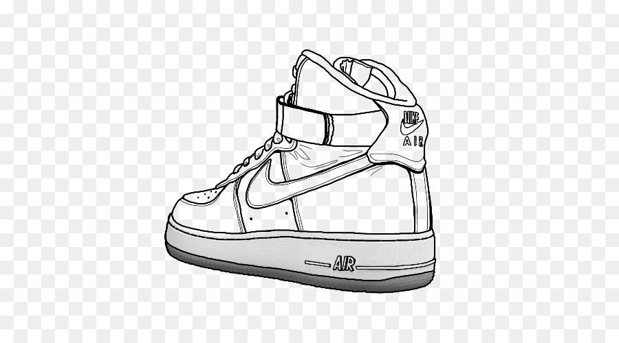 conversacion Allí Desaparecido  Nike Drawing png download - 500*500 - Free Transparent Air Force png  Download. - CleanPNG / KissPNG