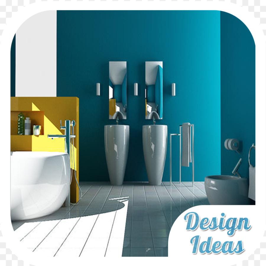 Akzent Wand Farbe Badezimmer Fliesen - Farbe png ...