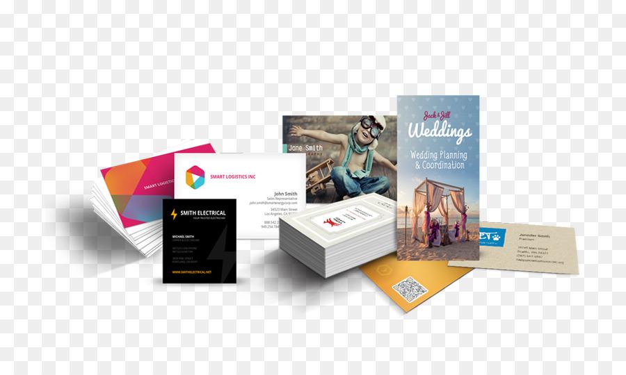 Papier Visitenkarten Drucken Visitenkarten Business Png