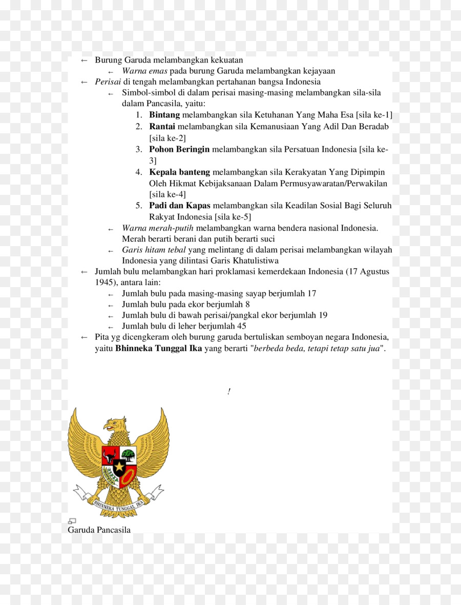 Garuda Pancasila Png Download 1700 2200 Free Transparent Pontianak Png Download Cleanpng Kisspng