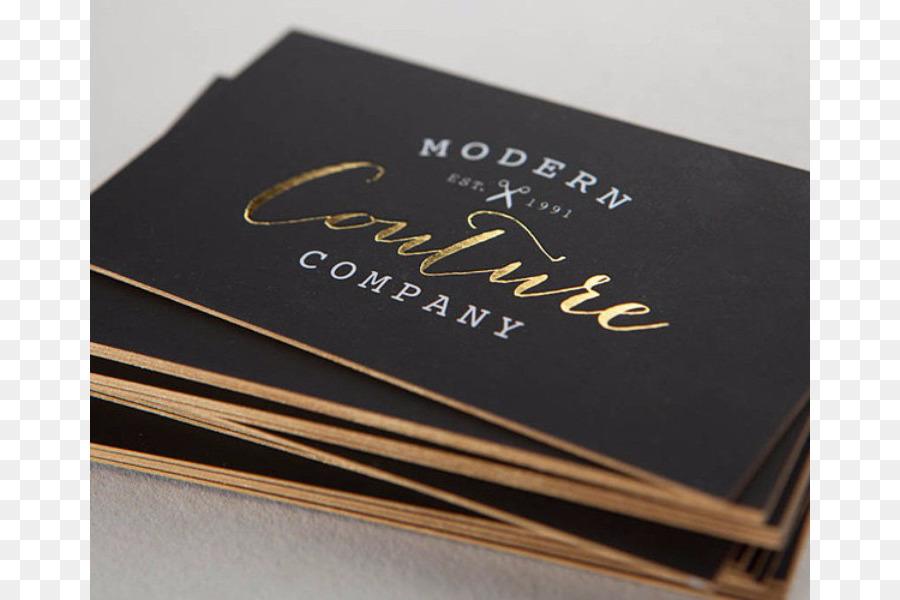 Visitenkarten Business Card Design Gold Drucken Gold Png
