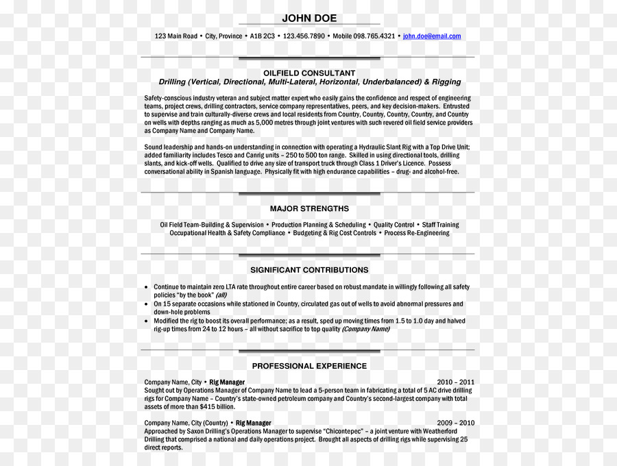 Zusammenfassung Template Project manager, Cover letter, Job ...