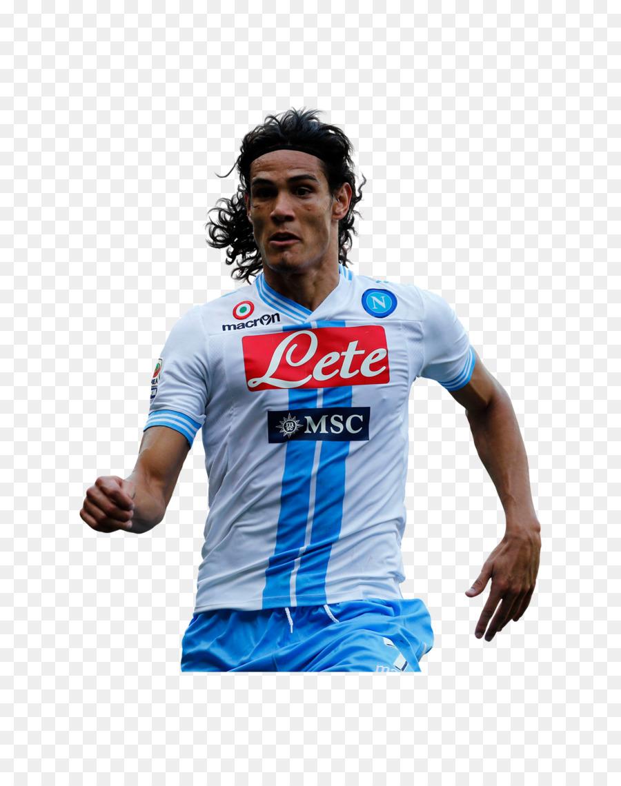 Edinson Cavani S S C Napoli In Serie A Giocatore Di Calcio Della A S Roma Edinson Cavani Scaricare Png Disegno Png Trasparente T Shirt Png Scaricare