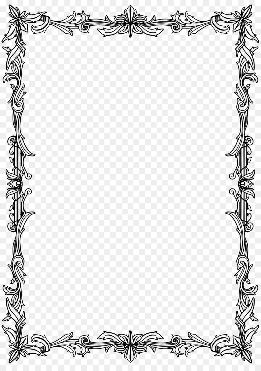 Cornici Disegno Bianco E Nero.Cornici Disegno Pergamena Fotogramma Del Film Linea Arte