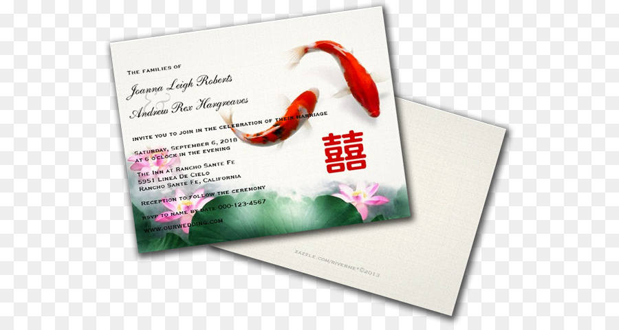 Wedding Invitation Card Png Download 600 475 Free
