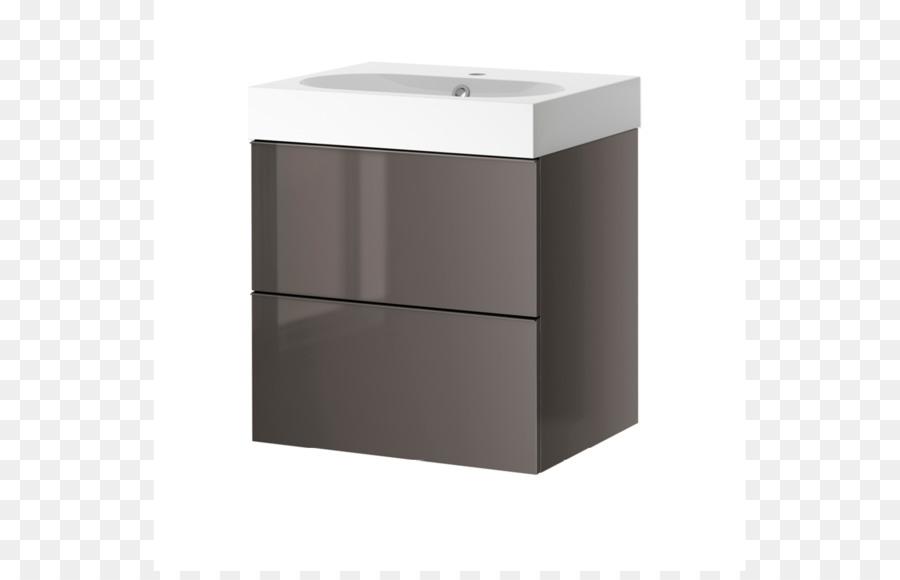 Badezimmer Schrank Holz Furnier Schublade Ikea Katalog Png