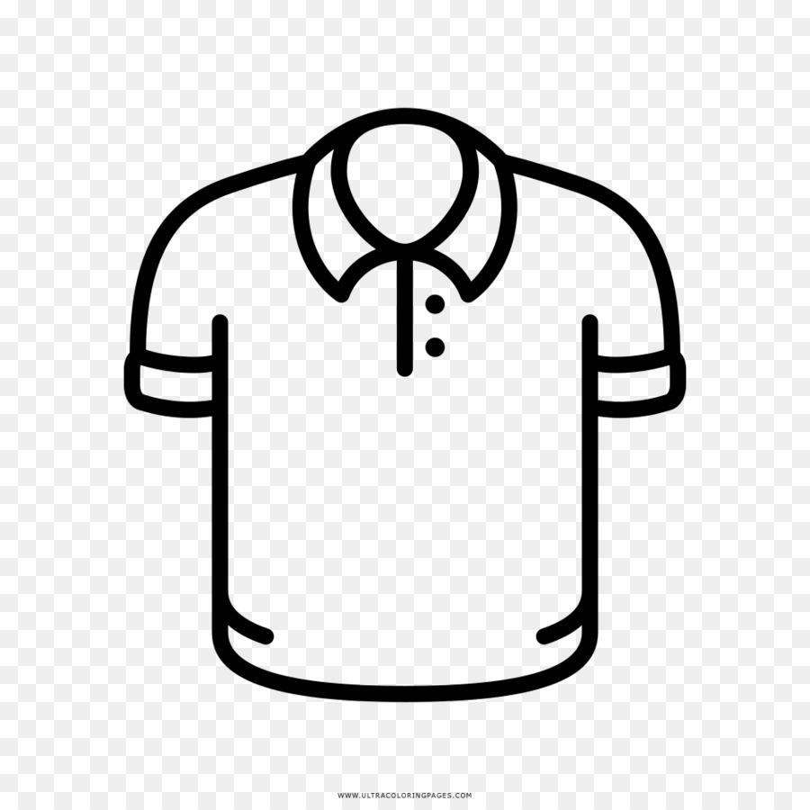 Felpa Disegno Da Colorare.T Shirt Polo Manica Della Camicia Disegno Da Colorare