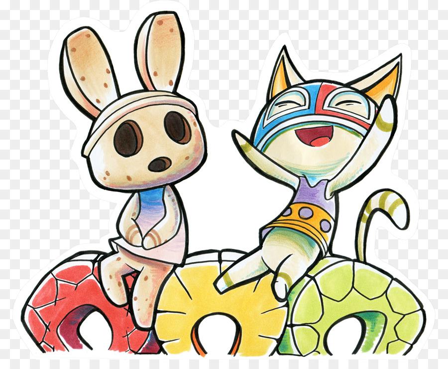 Easter Bunny Background Png Download 850 721 Free Transparent