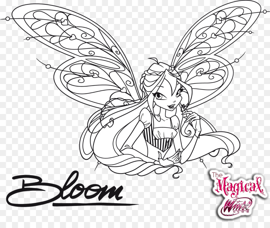 Butterfly Black And White Png Download 1600 1330 Free