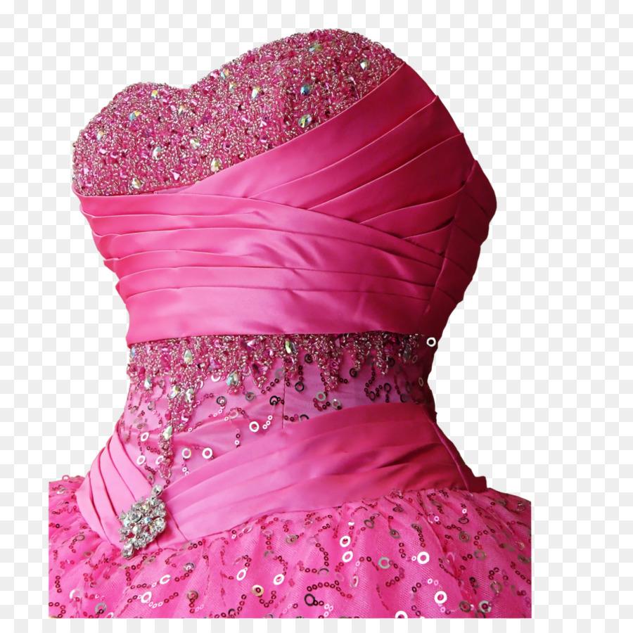 Cocktail-Kleid Abendkleid Hochzeit Kleid - rosa Kleid png