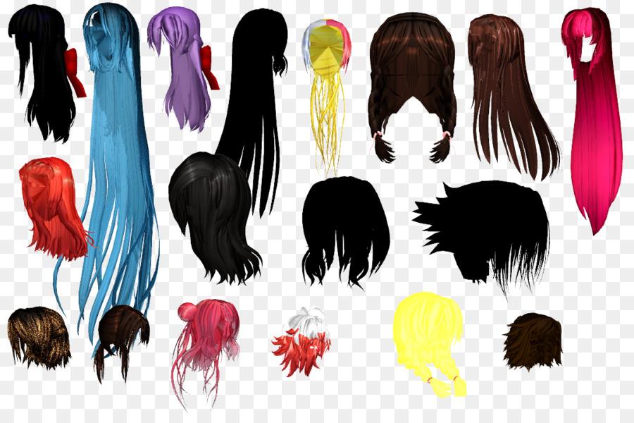 Frisur Pferdeschwanz Modell Lange Haare Haar Png Herunterladen