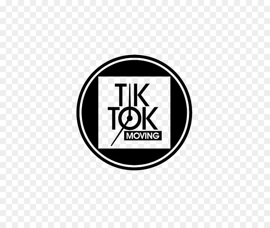 Tik Tok Logo Black And White Transparent