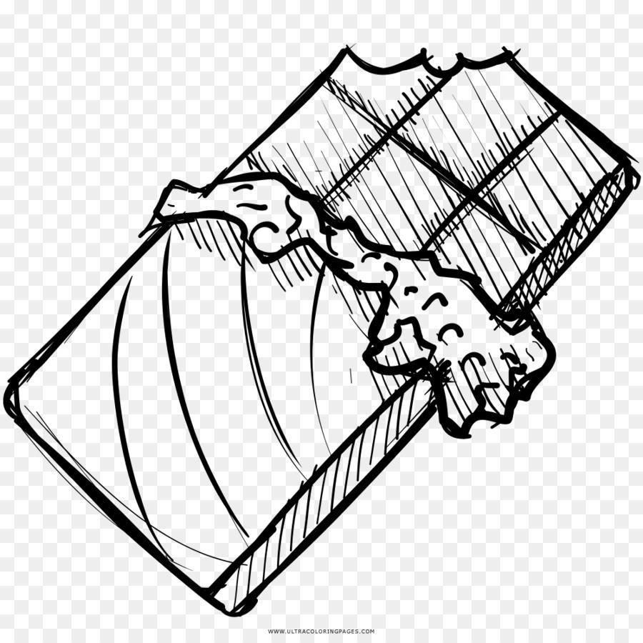 Tavoletta Di Cioccolato Disegno.Barretta Di Cioccolato Cioccolato Bianco Disegno Da Colorare