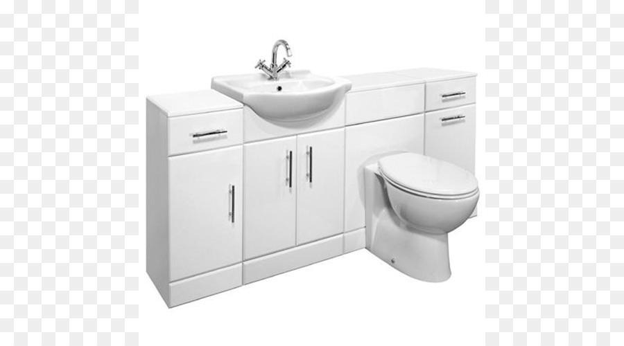 Badezimmer Schrank Waschbecken, Toilette, Schränke ...