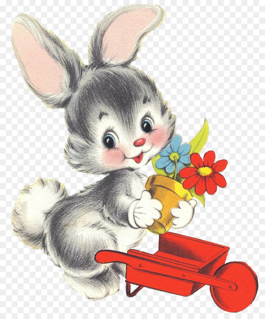 Osterhasen Zeichnen Kaninchen Mein Erster Hase Vintage