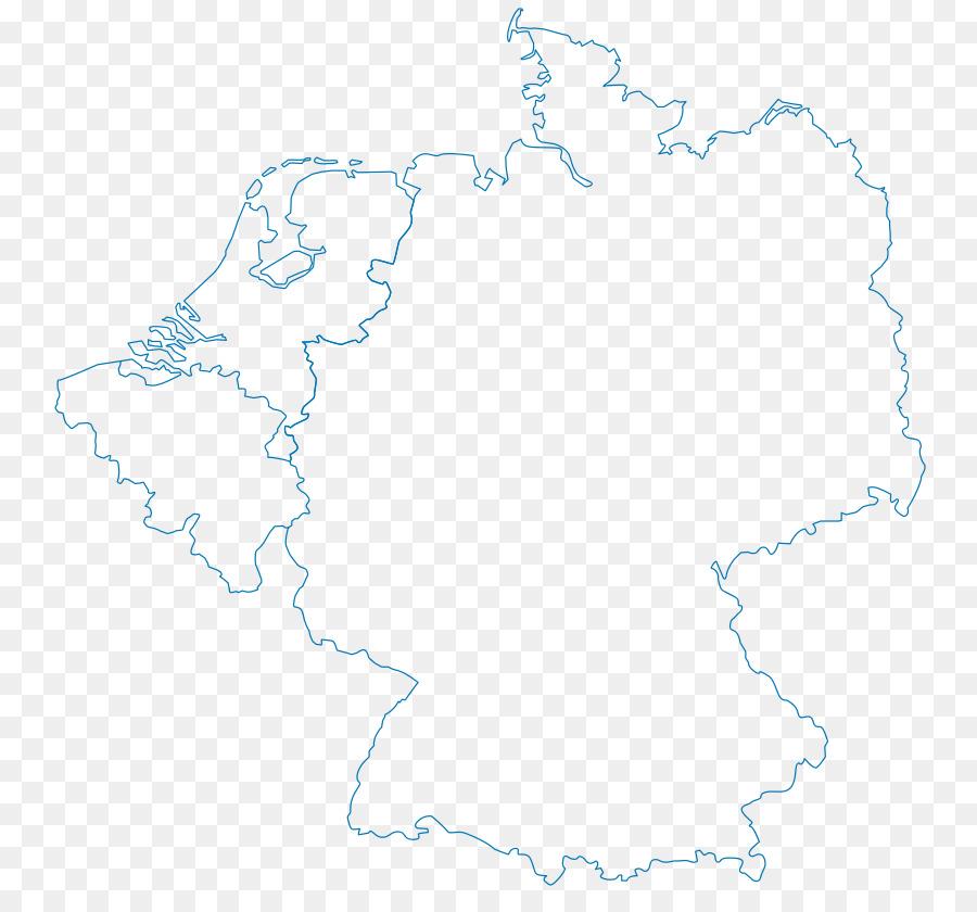 Leere Karte Deutschland Deutschen Anzeigen Png Herunterladen