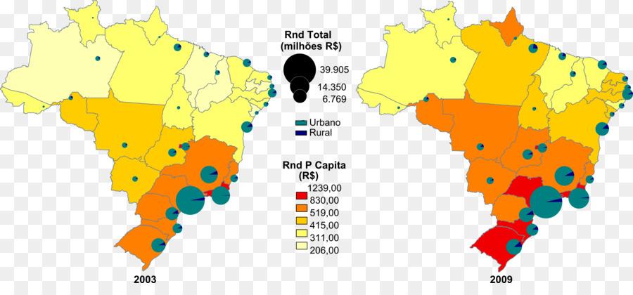 Brazil Map png download - 4134*1851 - Free Transparent ...