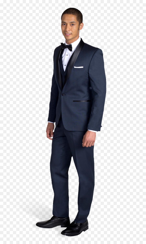 tuxedo navy blauen anzug revers kleid - smokingmanin png