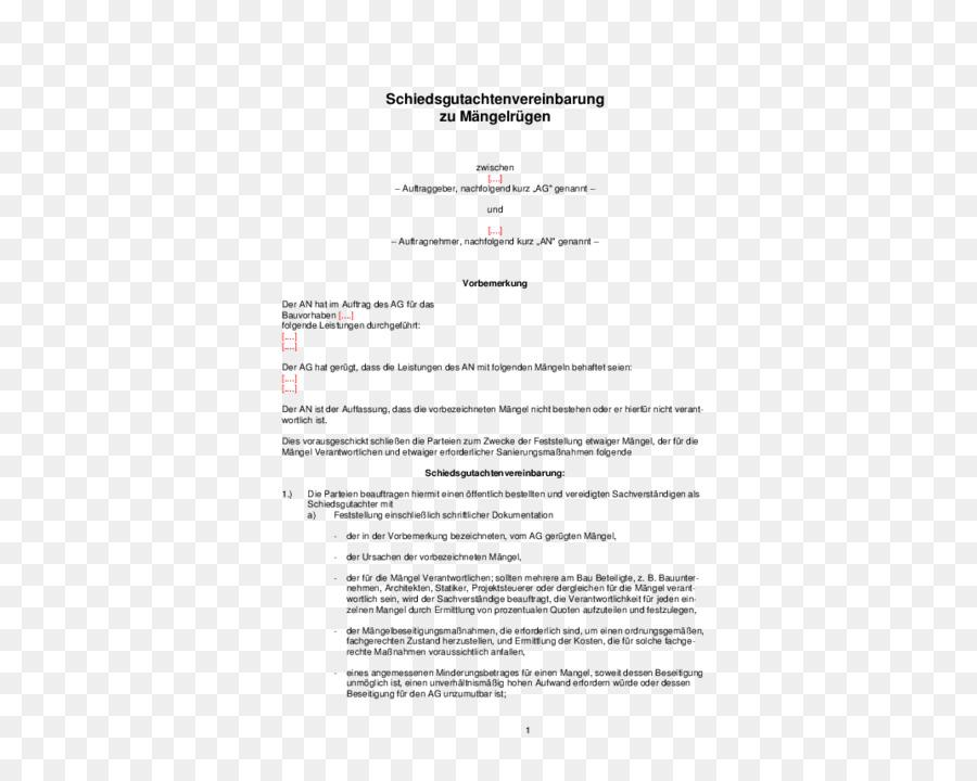 Dokument Vorlage Muster Vertrag Vereinbarung - Hindernis ...