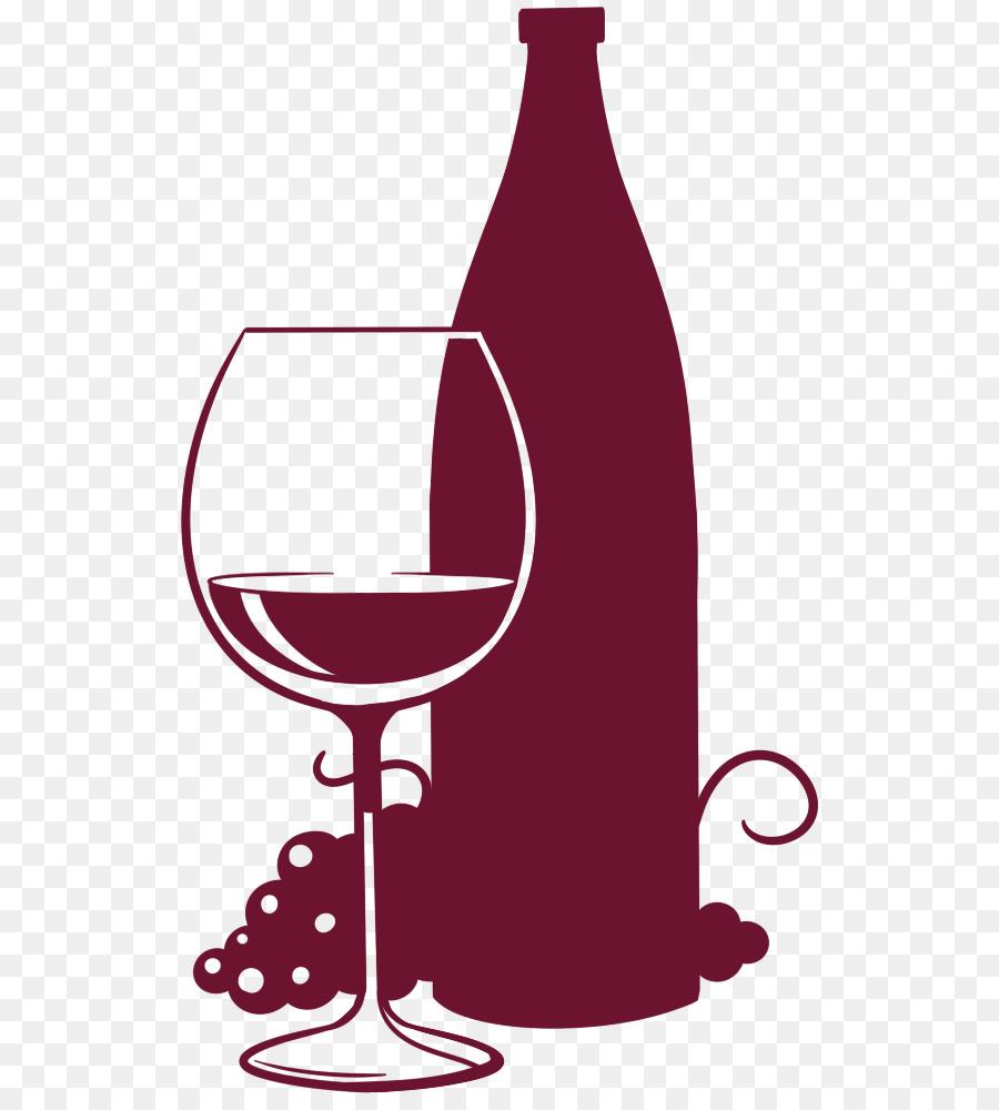 bottiglia di vino con bicchieri di vino immagini grafiche vettoriali clipart  -vc012763-CoolCLIPS.com