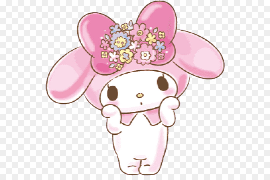 Hello Kitty Drawing Png Download 598 585 Free Transparent My Melody Png Download Cleanpng Kisspng