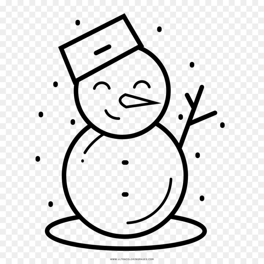 Pupazzo Di Neve Disegno Da Colorare Inverno Pupazzo Di Neve