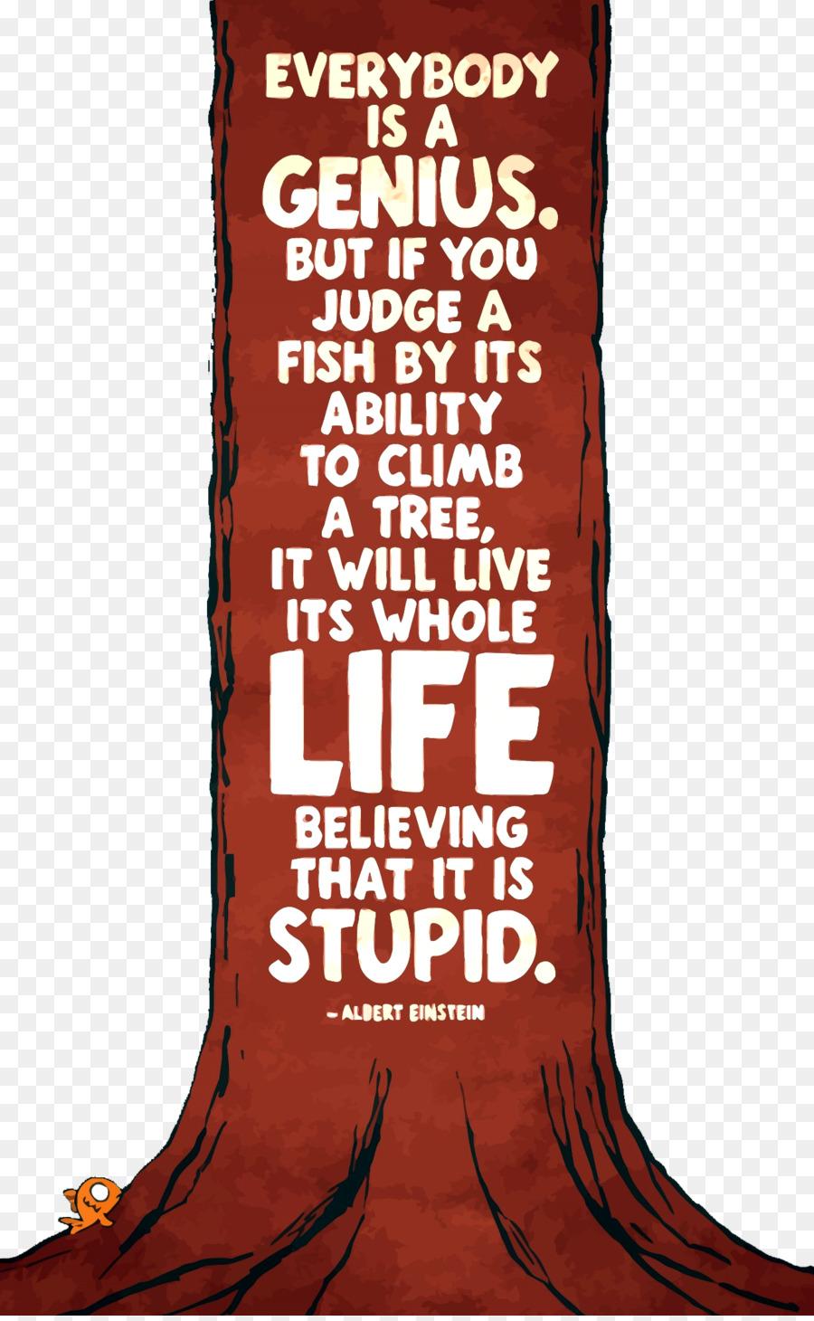 Albert Einstein Zitate Baum Fisch Versuchen Sie Nicht Ein