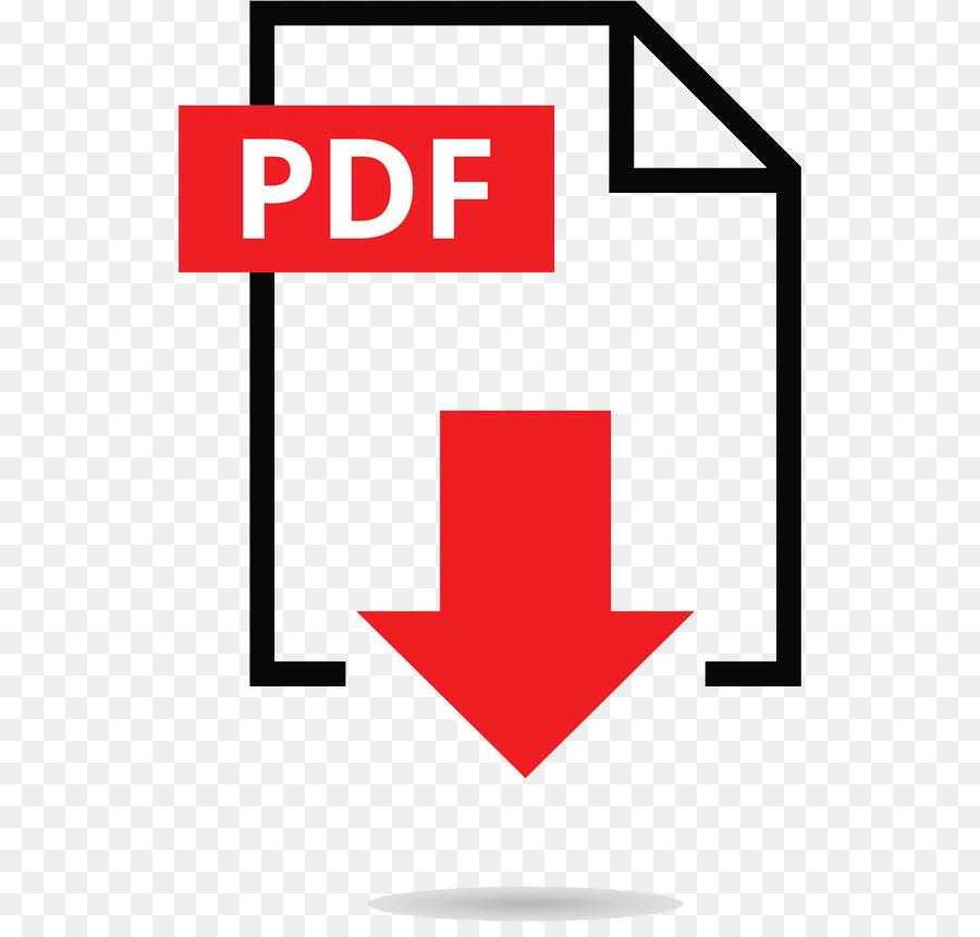 PDF Icone del Computer Scarica - PDF scaricare png - Disegno png trasparente Rosso png scaricare.