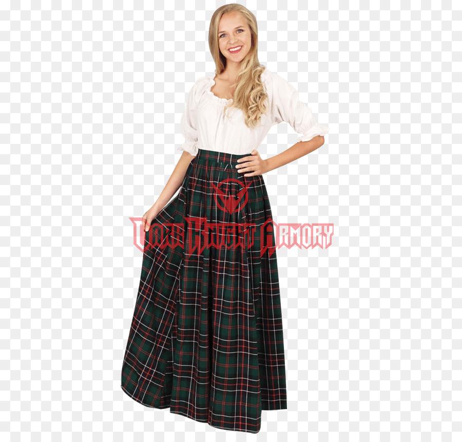 Schotten Karo Kostüm Kilt Tartan Rock Bekleidung