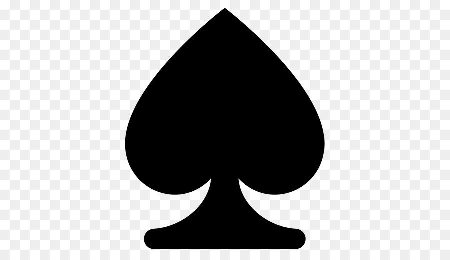 spade card emoji  Emoji Black And White png download - 7*7 - Free ...