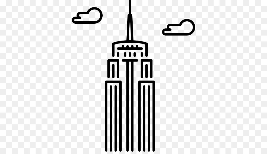 Empire State Building Icon Vector Clipart (#434113) - PinClipart