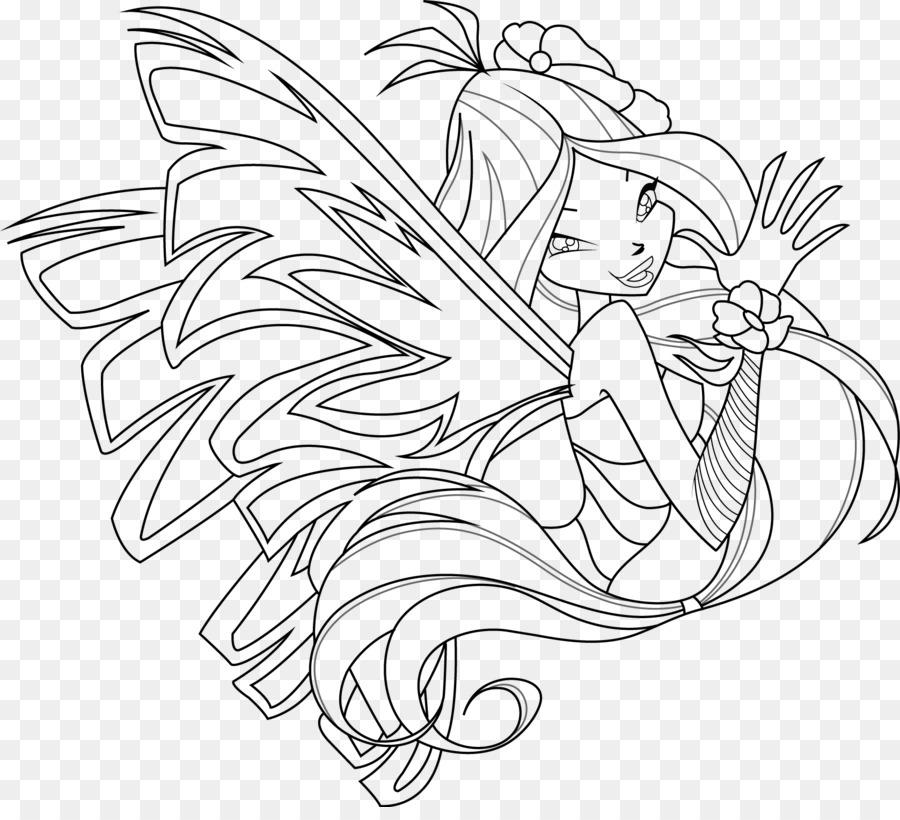 Flora Sirenix Da Colorare Disegno Tecna Pagina Da Colorare