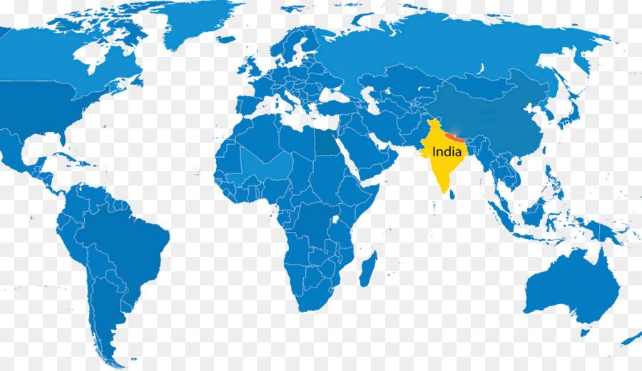 Weltkarte Flagge von Nepal Taulihawa, Nepal - Weltkarte png ...