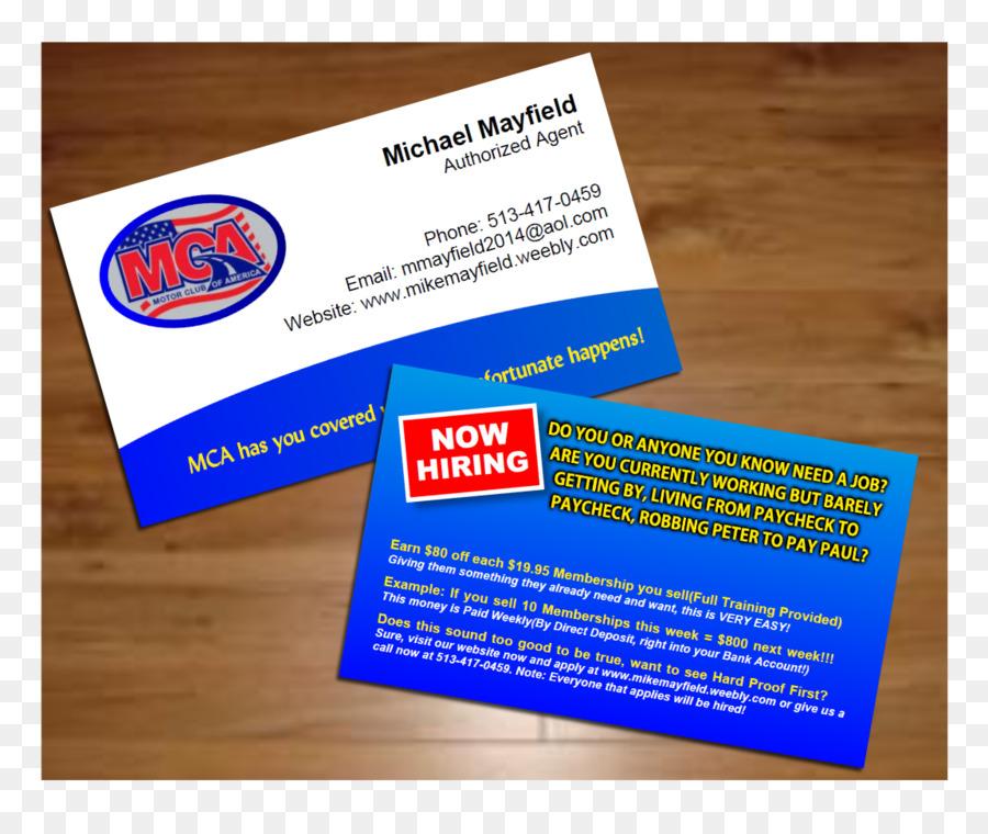 Visitenkarten Logo Marke Club Visitenkarte Png