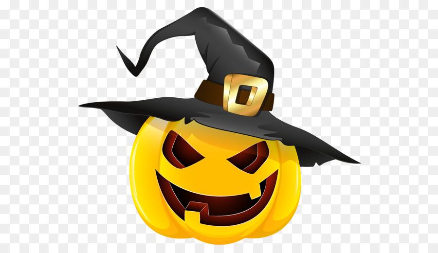 Zucca, Strega, cappello Stregoneria Jack-o'-lantern Clip art - zucca scaricare png - Disegno png trasparente Giallo png scaricare.