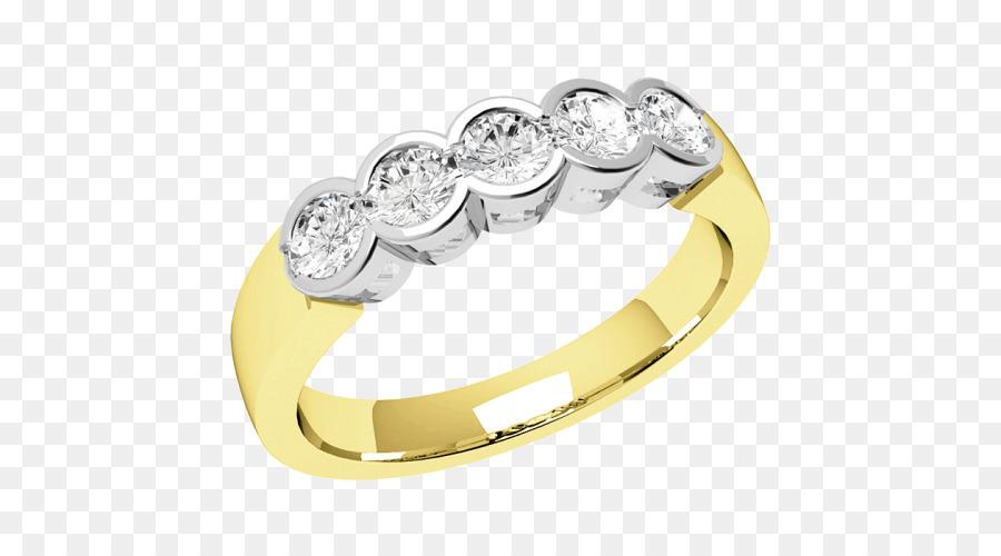 Hochzeit Ring Silber Gold Diamant Weißes Gold Marmor Png