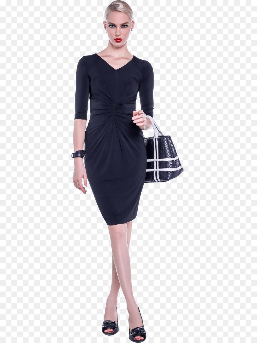 kleine schwarze kleid kleidung, die Ärmel jacke - kleid png