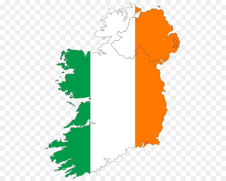 irland karte kostenlos Flagge von Irland Atlas der Irland Karte   rosehulman Institute of