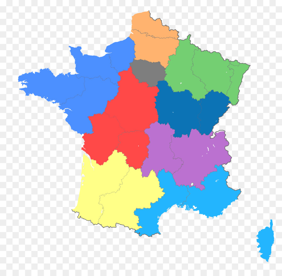 Francia Regioni Cartina.Fort De France La Mappa Delle Regioni Della Francia