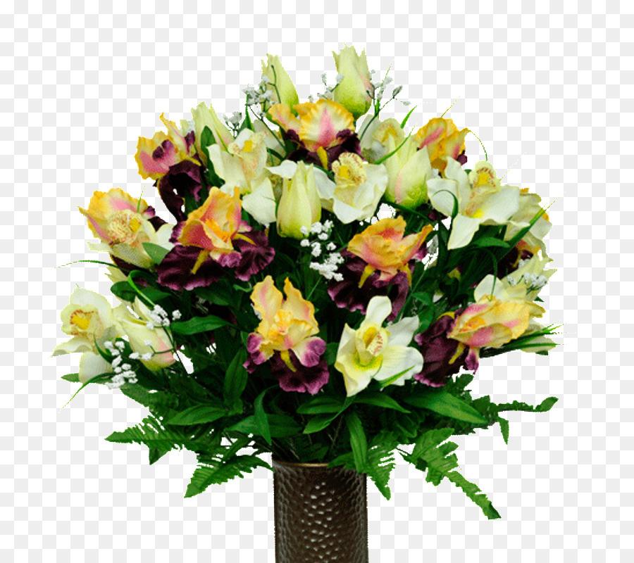 Fiori Gialli Borgogna.Fiore Artificiale Bouquet Di Fiori Fiori Recisi Di Rosa