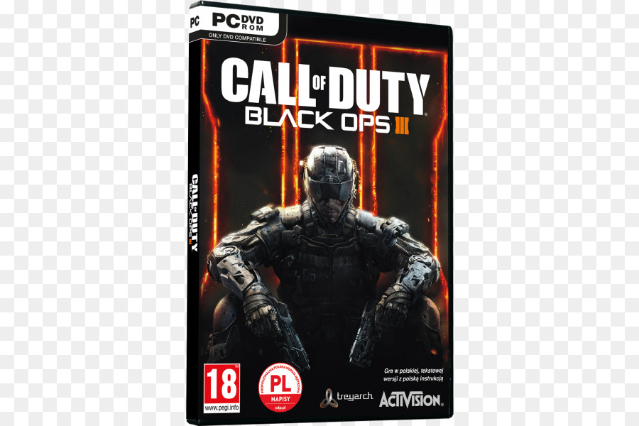 Call Of Duty Black Ops Iii Pc Game Png Download 600 600 Free