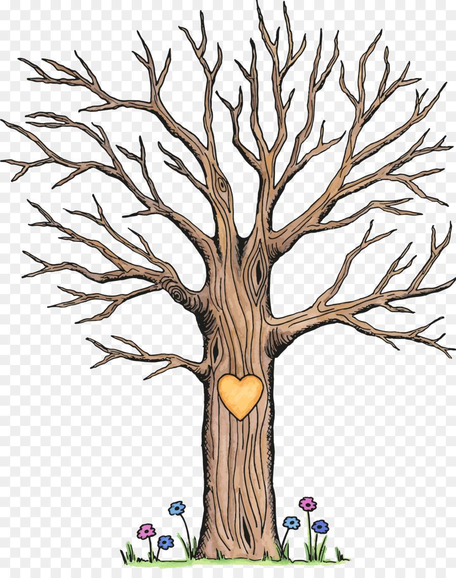 Taufe Gästebuch Baum Erstkommunion Fingerabdruck Baum Png