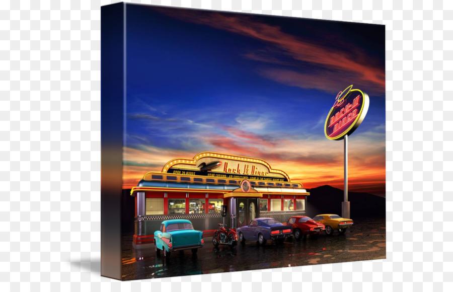 Straße Insel Diner Kaffee-Küche der Vereinigten Staaten-Cafe ...
