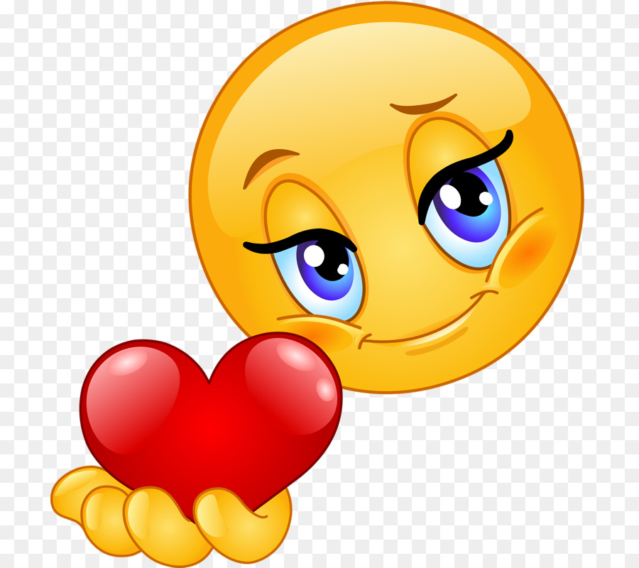 Emoticons Emoji Herz-Smiley Liebe - Emoji png