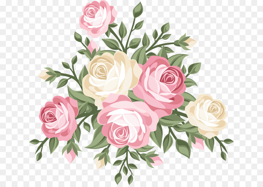 Pink Flowers Background Png Download 700633 Free