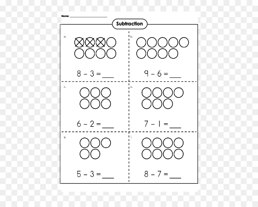 Subtraktion Arbeitsblatt Kindergarten Der Ersten Klasse