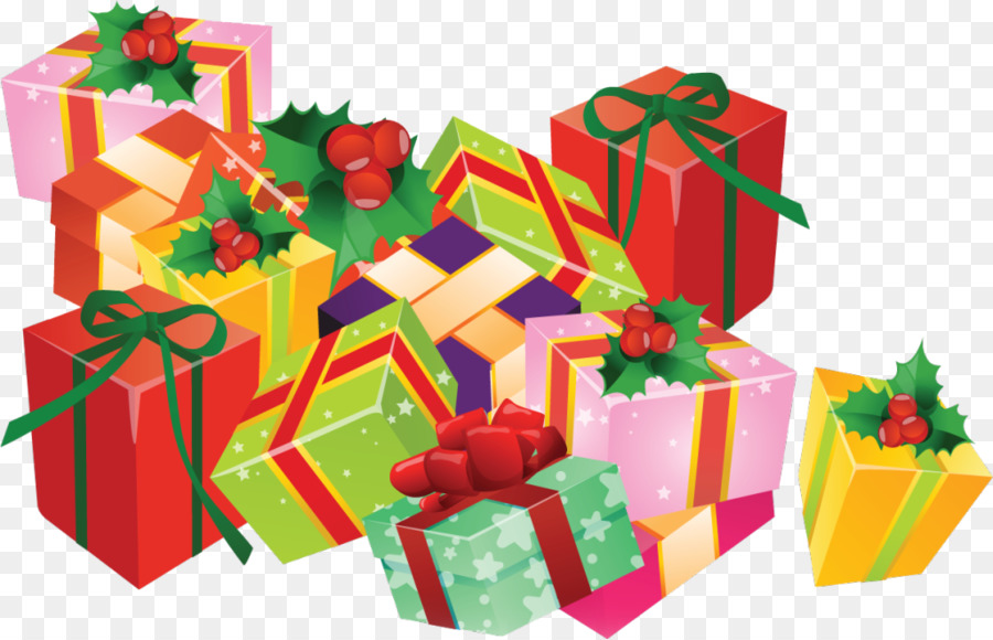 Christmas Gift Drawing png download - 1024*659 - Free ...